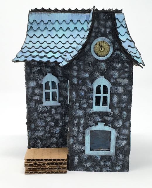 Another 3D Paper House in the Davenport House Series - Paper