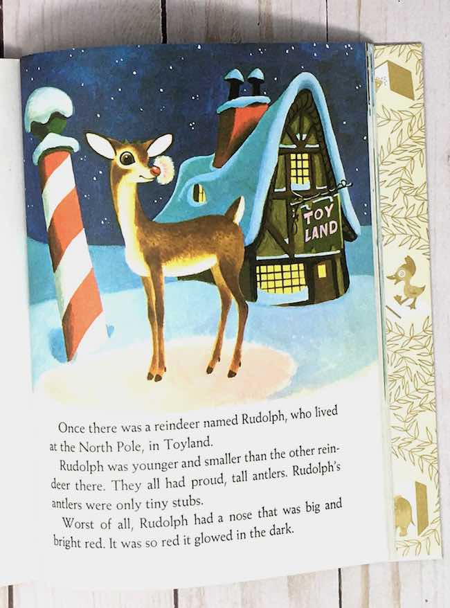 Toyland timber frame house in Rudolph the Red-Nosed Reindeer