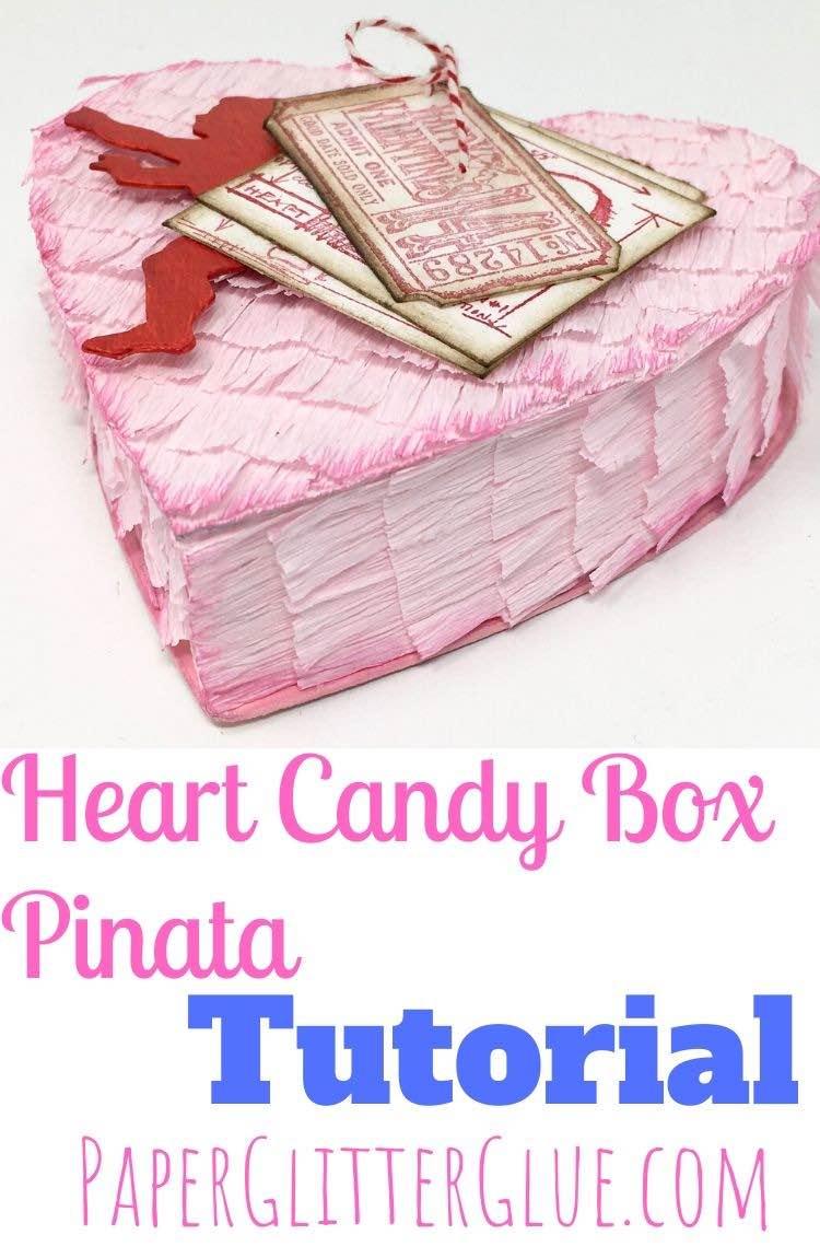 Valentine Candy Box Pinata