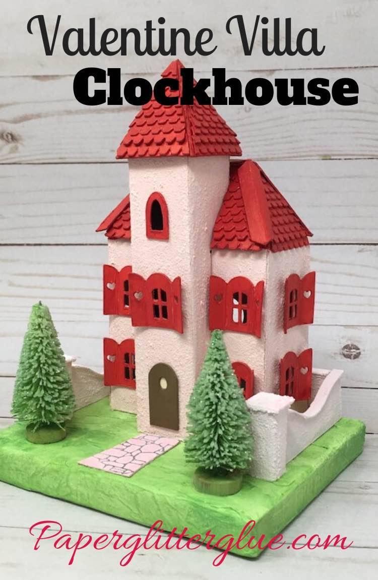 Valentine Villa Clockhouse Putz House