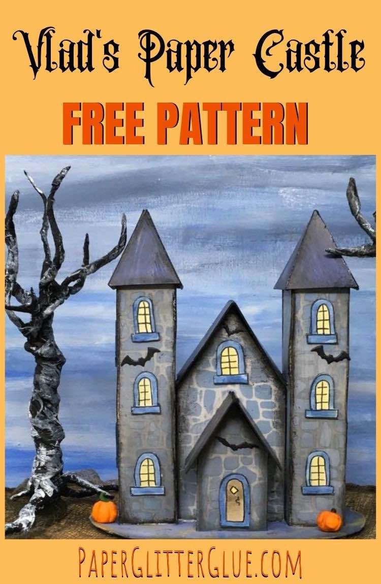 Vlad's Paper Castle pattern template