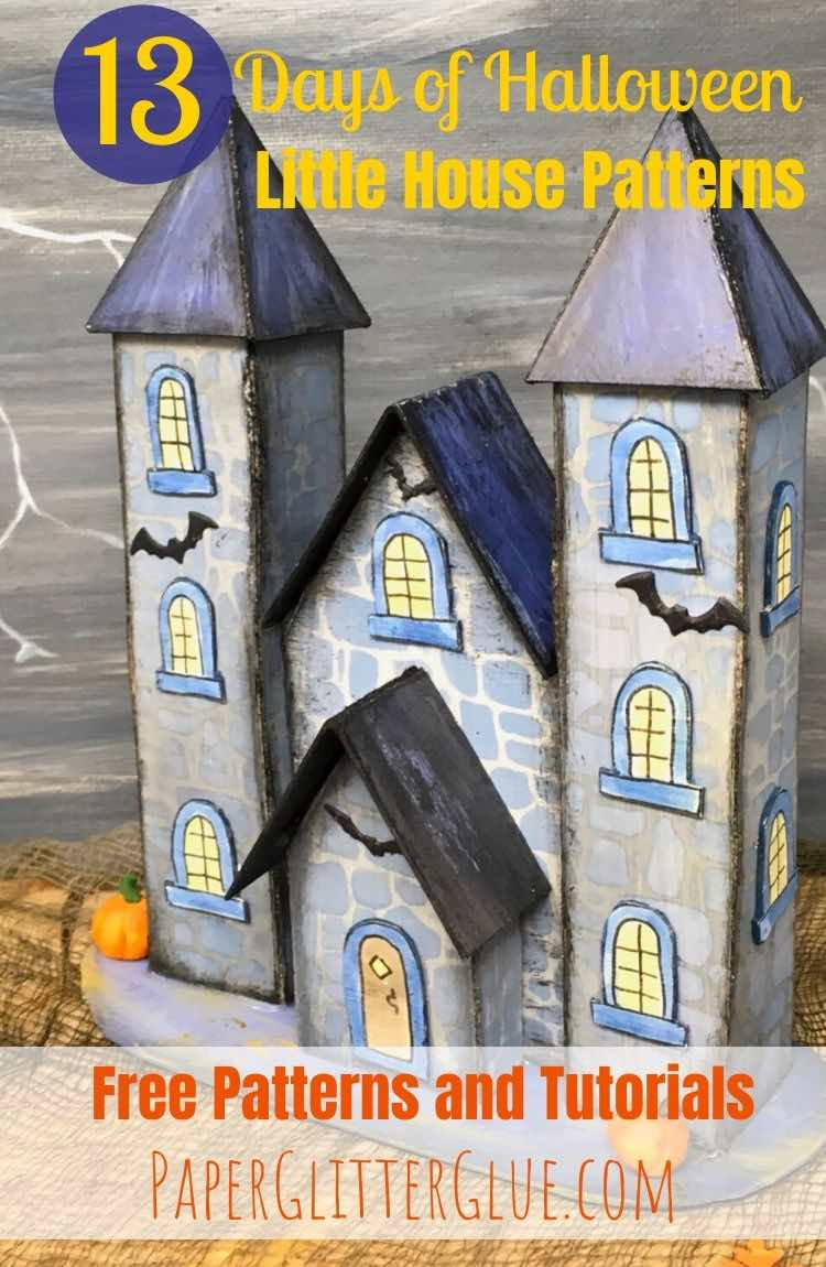 Vlad's castle 13 Halloween house pattern