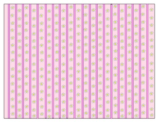 printed wallpaper option for dollhouse