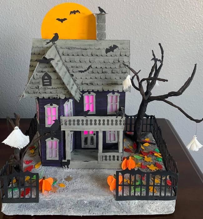 cindy halloween house 2020