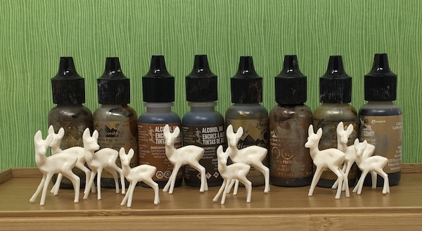 Little deer ready for alcohol ink staining