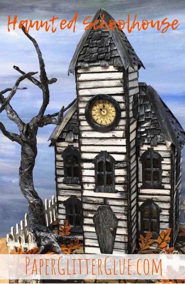 how to Make a Haunted Schoolhouse