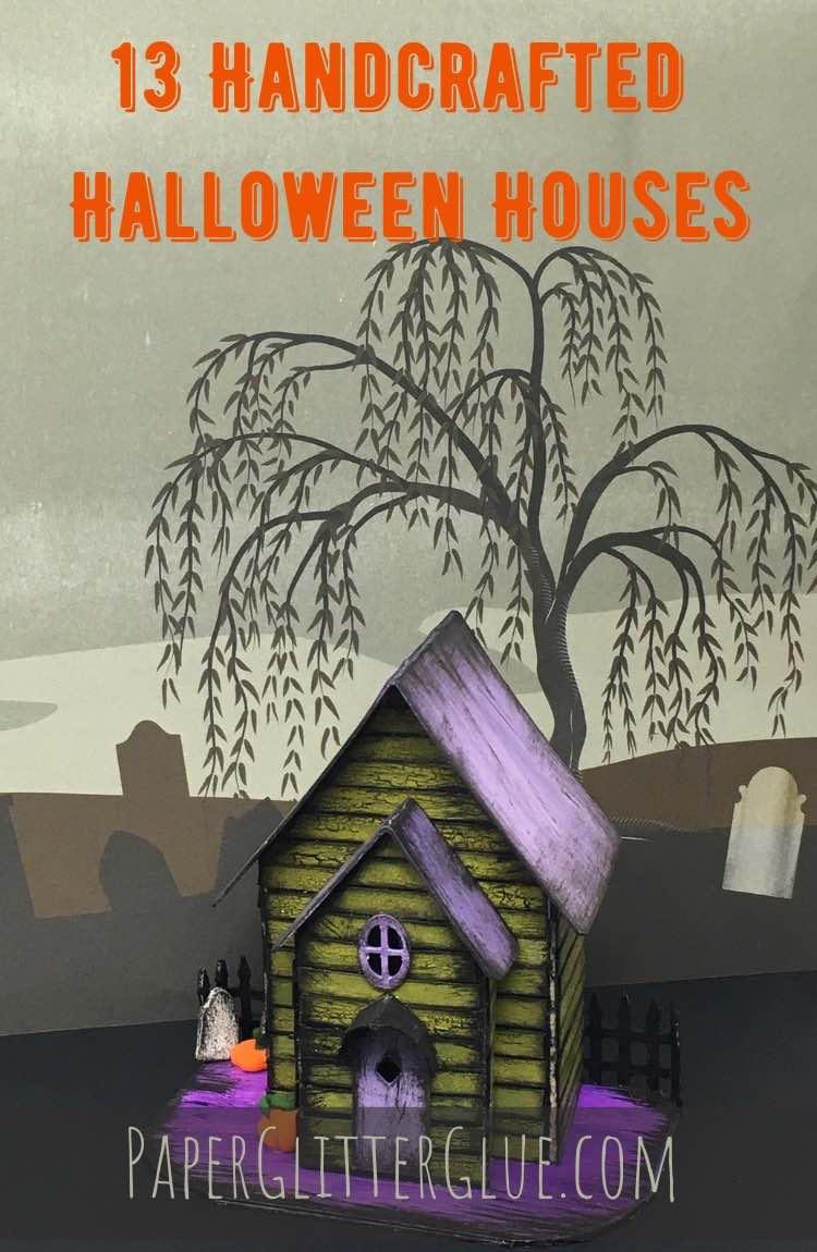 make a mini halloween house cassandra