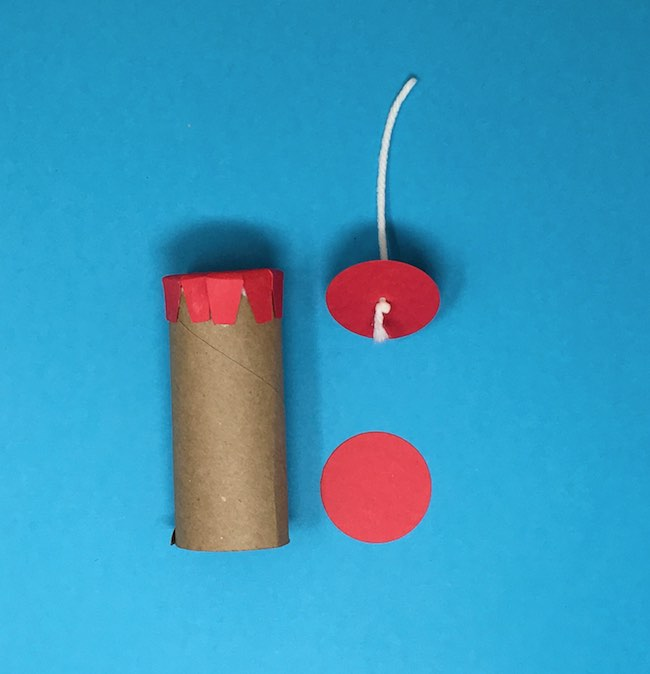 make the fuse or pull string for pinata
