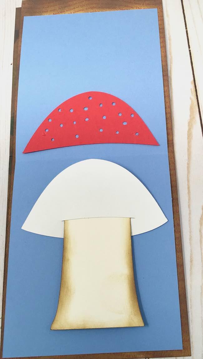 mushroom stem in place