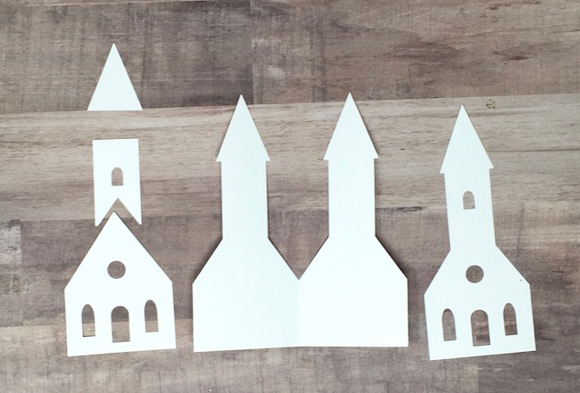 options to cut out for little church gift tag