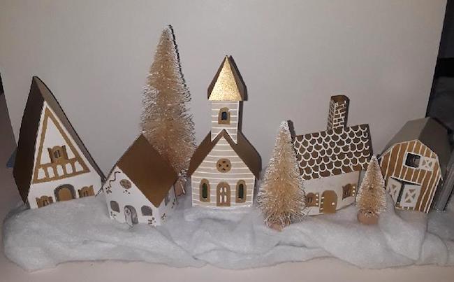 tiny golden house village
