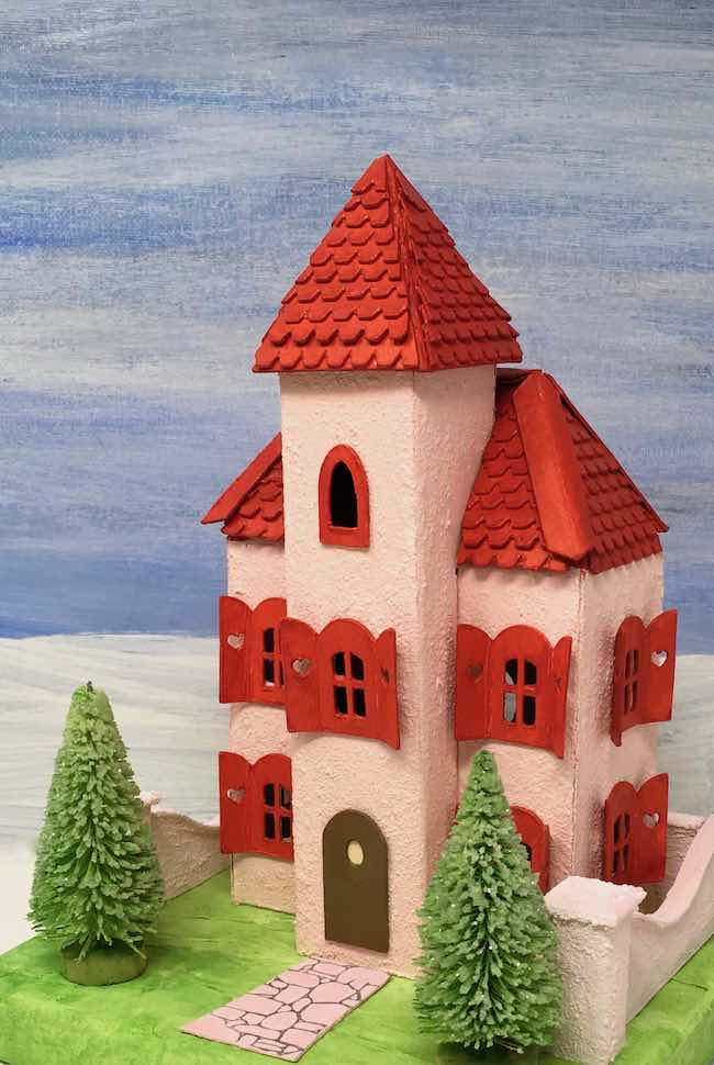valentine villa putz house with front bell tower